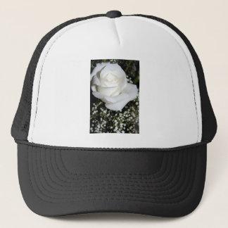 白いバラ キャップ