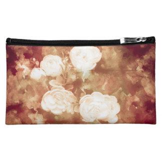 白いバラ コスメティックバッグ