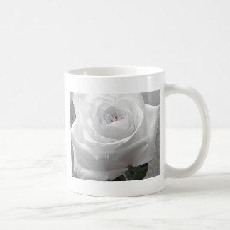 白いバラ コーヒーマグカップ