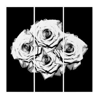 白いバラ トリプティカ