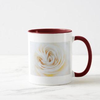 白いバラ マグカップ