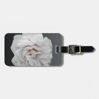 白いバラ ラゲッジタグ