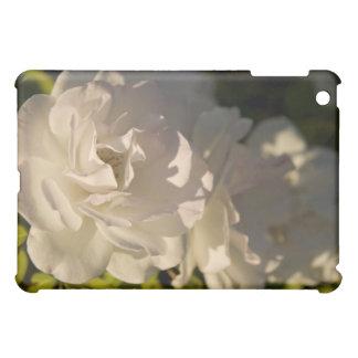 白いバラ iPad MINI CASE