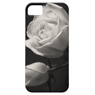 白いバラ iPhone SE/5/5s ケース
