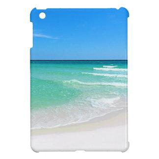 白いビーチ iPad MINIカバー