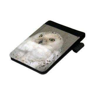 白いフクロウ小さいPadfolio ミニパッドフォリオ