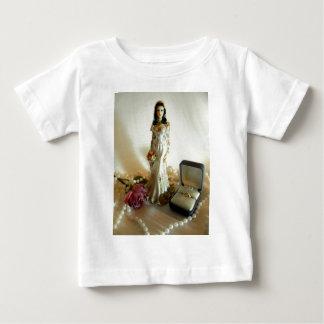 白いブライダルI ベビーTシャツ