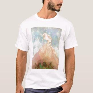 白いペガソス、c.1908 (キャンバスの油) tシャツ