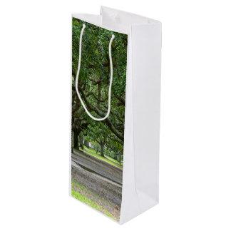 白いポイントは絵画的庭いじりをします ワインギフトバッグ