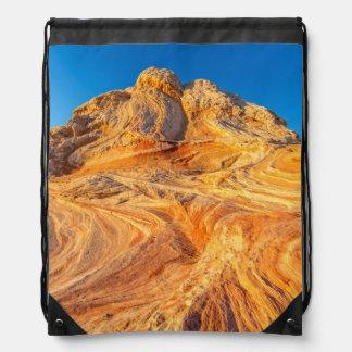 白いポケットの砂岩形成 ナップサック