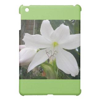 白いユリの花 iPad MINIカバー