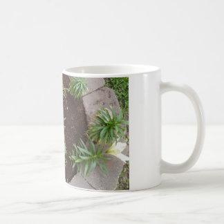 白いユリ コーヒーマグカップ