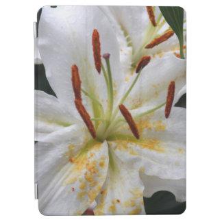 白いユリ iPad AIR カバー