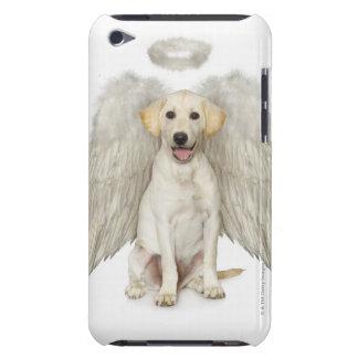 白いラブラドル・レトリーバー犬の身に着けていることのポートレート Case-Mate iPod TOUCH ケース