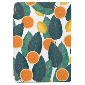 白いレモンおよびオレンジ iPad AIR カバー