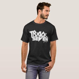白いロゴトラック7バンドワイシャツ Tシャツ