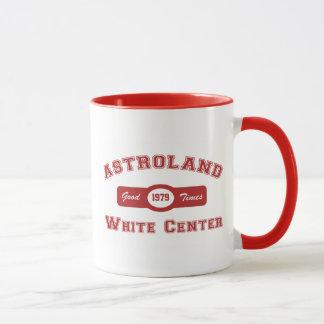 白い中心のAstroland マグカップ