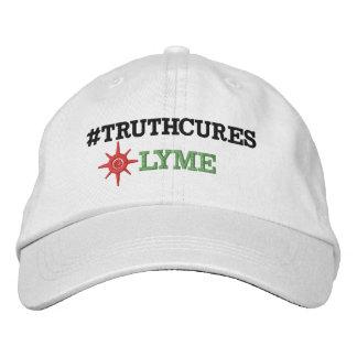 白い代わりとなる服装の基本的な調節可能な帽子Emb 刺繍入りキャップ