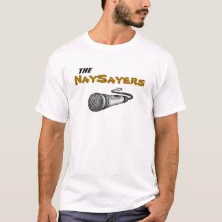 白い反対論者 Tシャツ