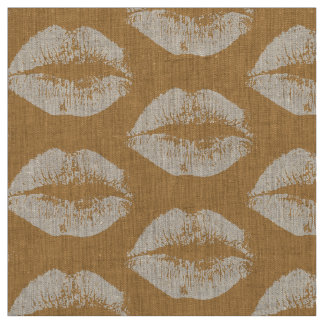 白い唇#5 ファブリック