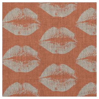 白い唇#6 ファブリック
