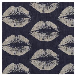 白い唇#8 ファブリック