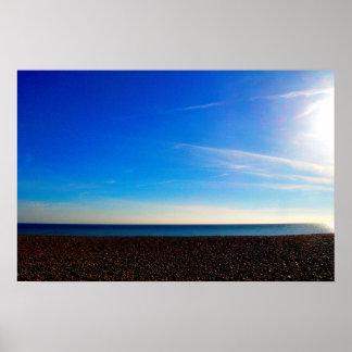 白い地平線 ポスター