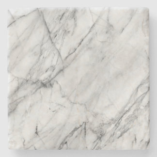 白い大理石のコースター ストーンコースター