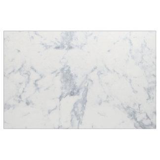 白い大理石の一見 ファブリック