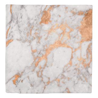 白い大理石及び銅の羽毛布団カバー 掛け布団カバー