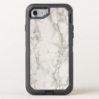 白い大理石 オッターボックスディフェンダーiPhone 7 ケース