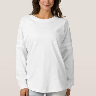 白い女性の精神のジャージーのワイシャツ9色 スピリットジャージー