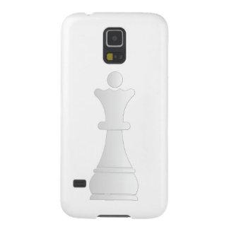 白い女王の駒 GALAXY S5 ケース