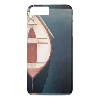 白い小舟Iの電話箱 iPhone 8 PLUS/7 PLUSケース