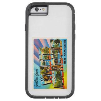 白い山のニューハンプシャーNH旅行記念品 TOUGH XTREME iPhone 6 ケース