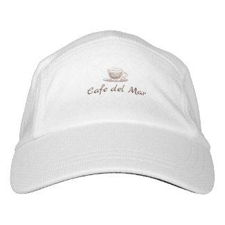 白い帽子 ヘッドスウェットハット