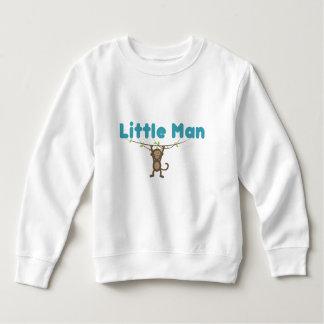 白い幼児のフリースのスエットシャツ スウェットシャツ