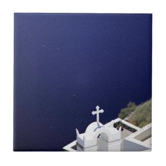 白い教会 タイル