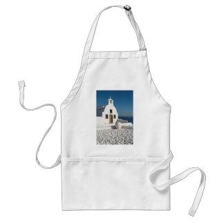 白い教会、Oia、Santorini スタンダードエプロン