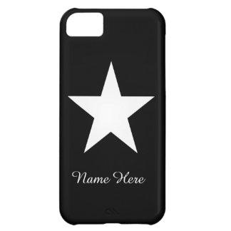 白い星 iPhone5Cケース