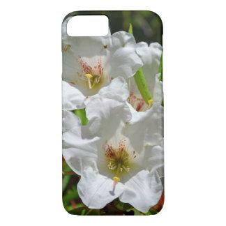 白い春のシャクナゲのプリントのiphoneの箱 iPhone 8/7ケース