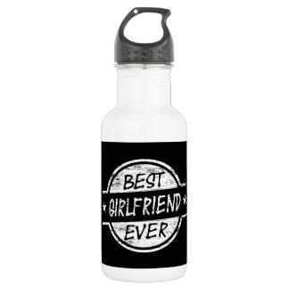 白い最も最高のなガールフレンド ウォーターボトル
