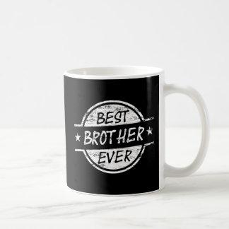 白い最も最高のな兄弟 コーヒーマグカップ