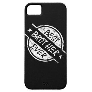 白い最も最高のな兄弟 iPhone SE/5/5s ケース