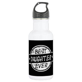 白い最も最高のな娘 ウォーターボトル