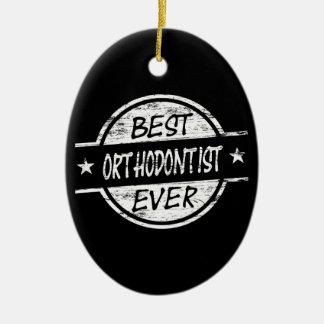 白い最も最高のな歯科矯正医 セラミックオーナメント