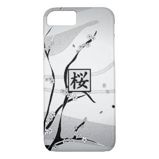 白い桜の木 iPhone 8/7ケース