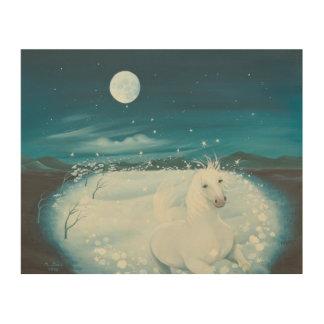 白い歌1996年 ウッドウォールアート