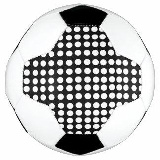 白い水玉模様のサッカーボール サッカーボール