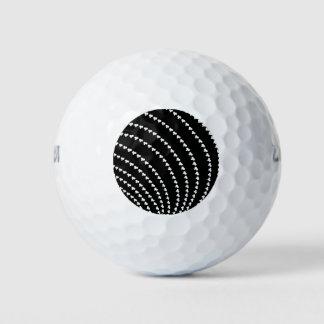白い渦 ゴルフボール